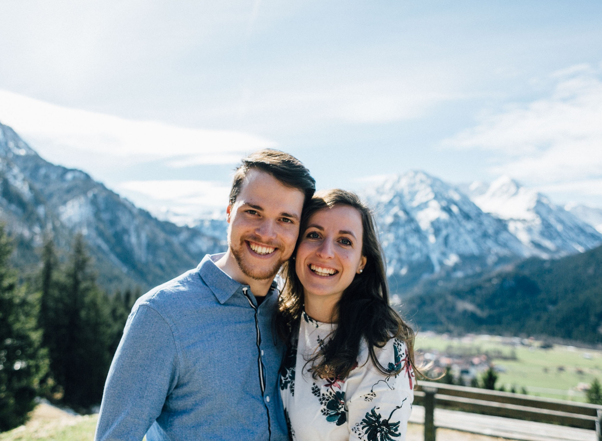 Hochzeit in den Bergen Shooting